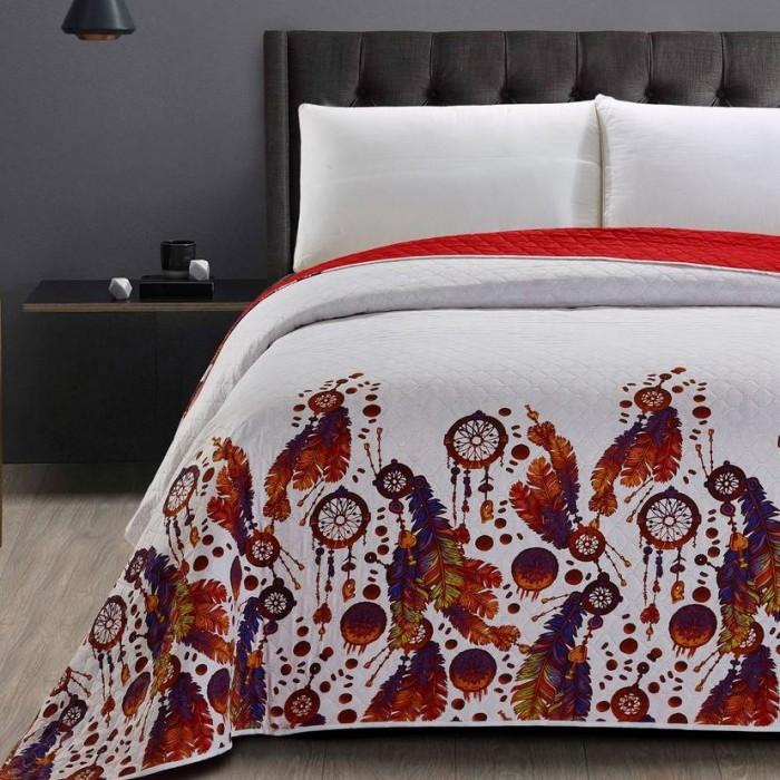 prehoz na posteľ bohémsky štýl