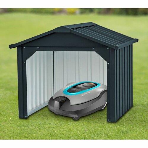 domček pre robotickú kosačku