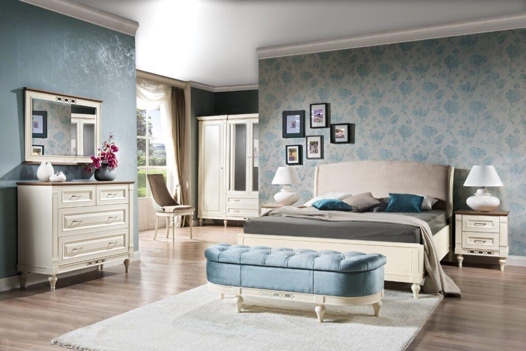 rustikálna spálňa