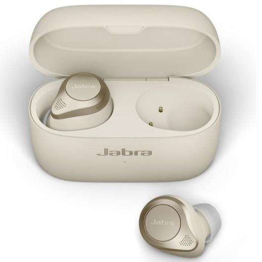 bezdrôtové slúchadlá Jabra Elite 85t, bezkáblové nabíjanie