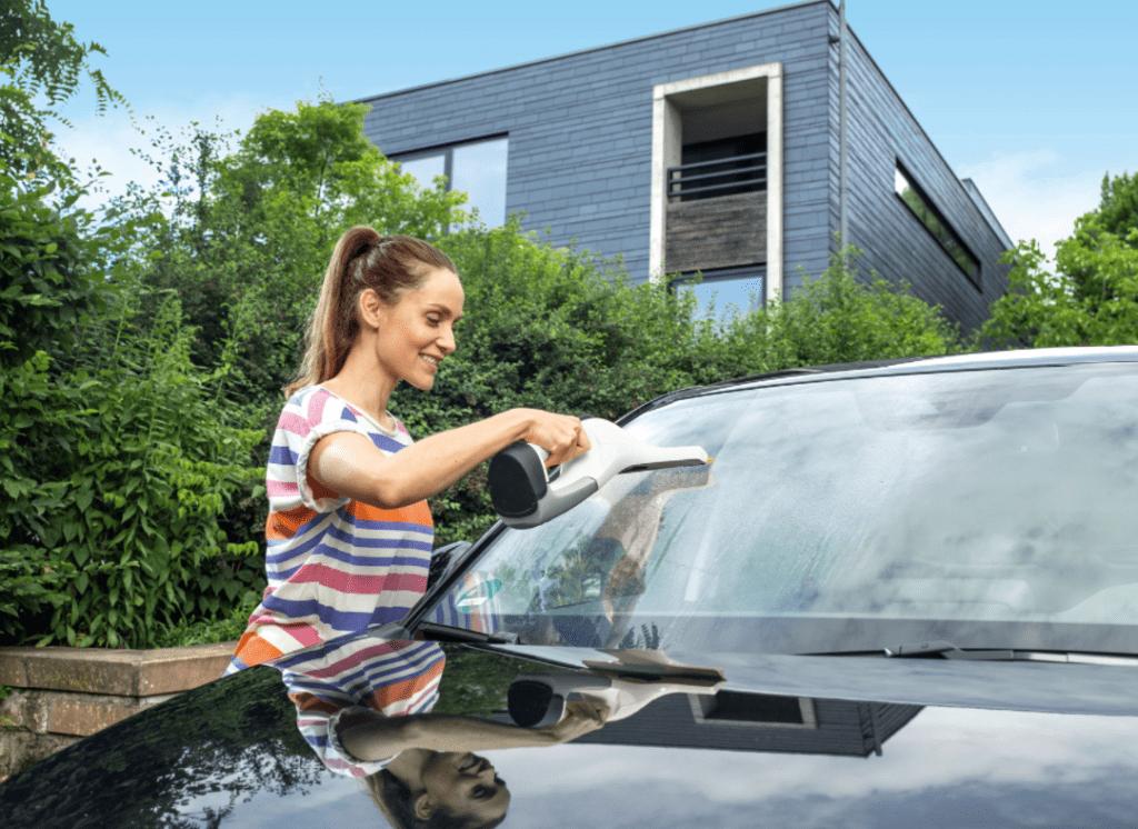 čistič okien na auto Karcher