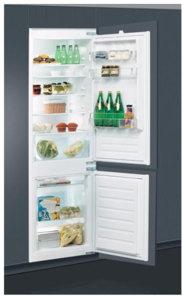 najlepšia vstavaná chladnička