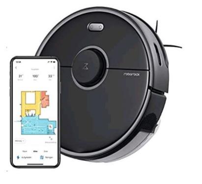 aplikácia pre robotický vysávač