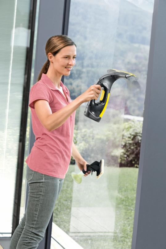 lacný čistič na okná