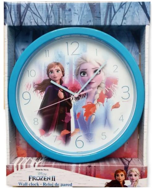 detské nástenné hodiny Ľadové kráľovstvo