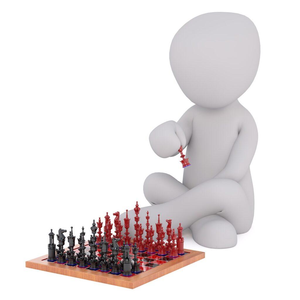 stratégie pri šachu