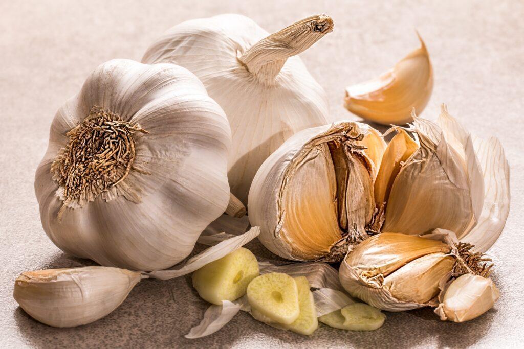 konzumácia cesnaku