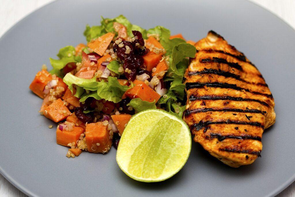 zdravie, chutné jedlo