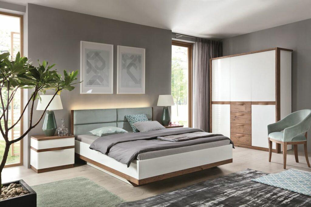 drevená sektorová  spálňa