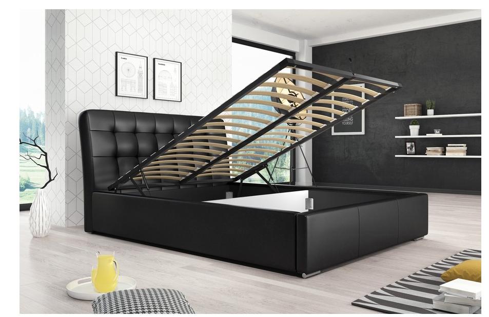 posteľ s úložným priestorom