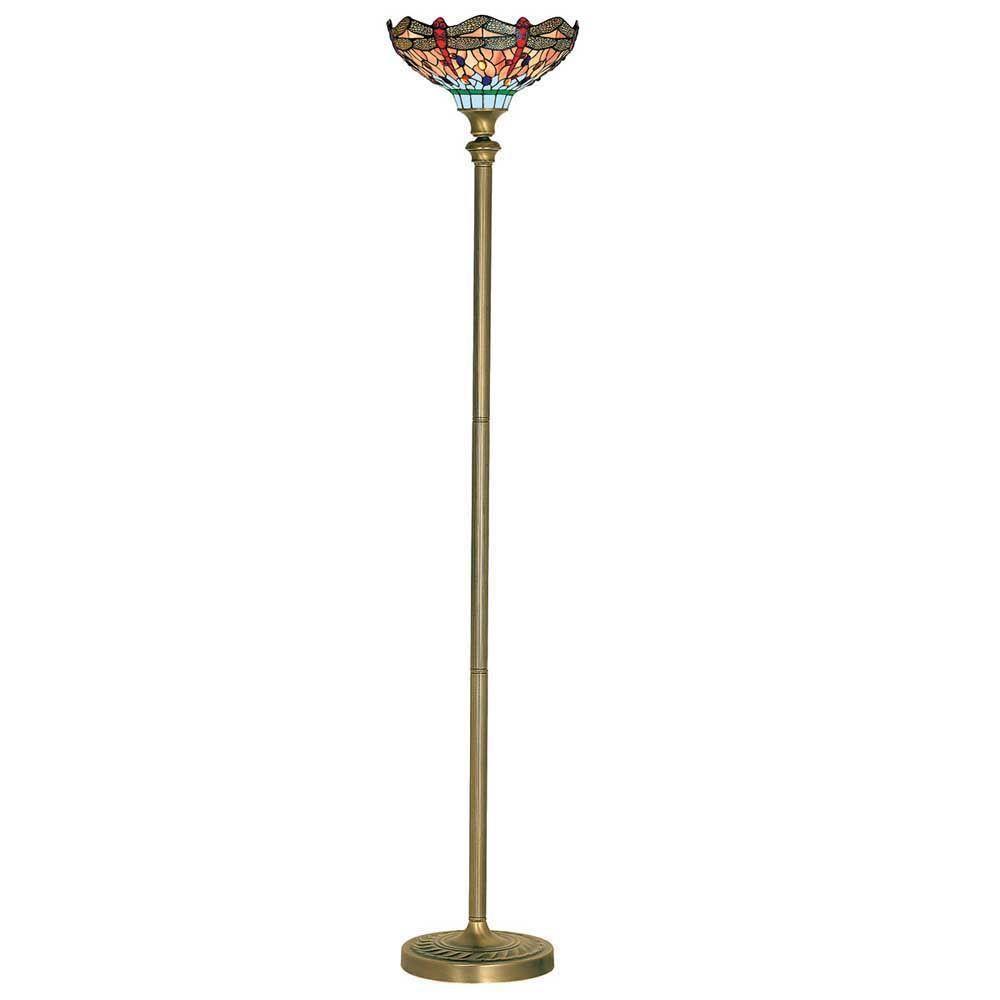 rustikálna stojaca lampa