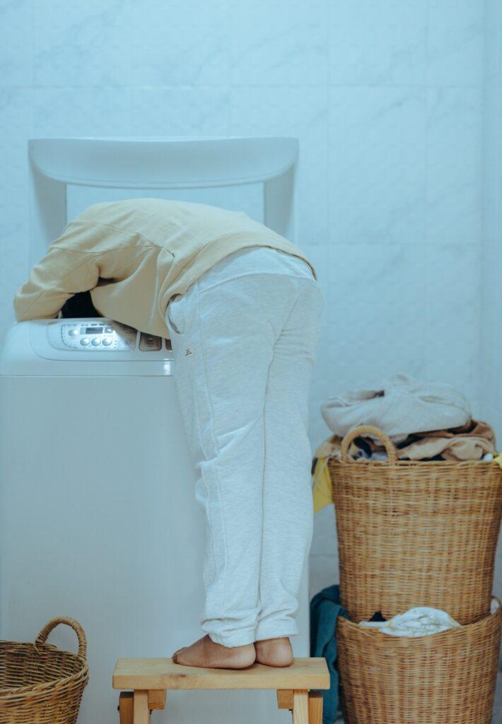 chyby pri používaní práčky