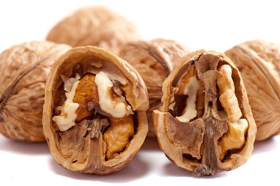 proteíny v orechoch